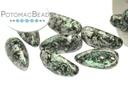Chilli Bead - Tweedy Green 4x11mm