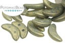 Crescent Beads - Pacifica Poppy Seed 3X10mm