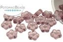 Czech Daisy Beads - Amethyst 5mm